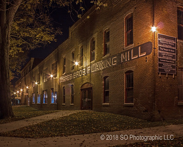 Coppes Commons at Night