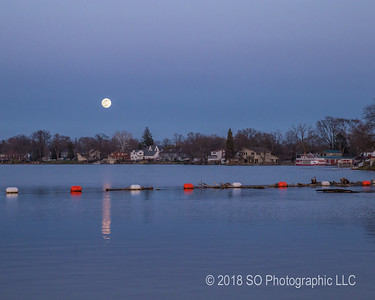 Elkhart River Queen & the Full Moon