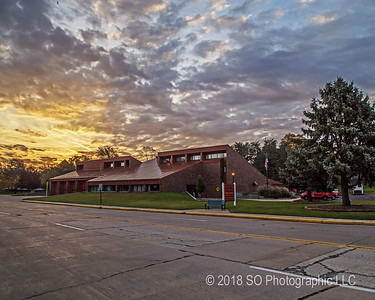 Elkhart Central Station Sunrise