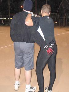 11/21/05 - Billy Hoerner & Rob Sammons enjoy an AB