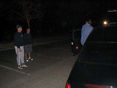 Henry, Rob & Rob's Car