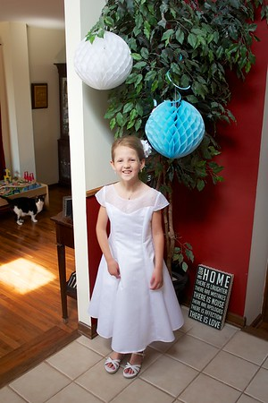Ella's First Holy Communion