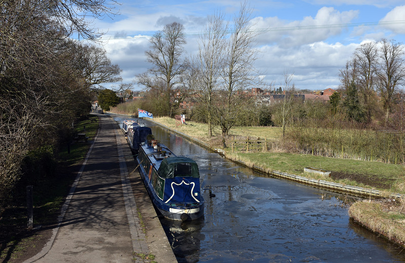 The Shropshire Union canal, Ellesmere.