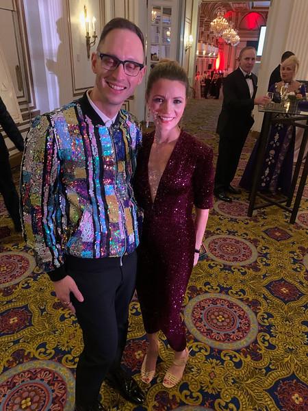 Marcus Hamblin of Boston and 2017 Ellie Fund recipient Kate Martin of Brookline