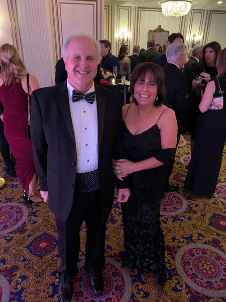 WCVB President and General Manager Bill Fine and his lovely wife, Gail