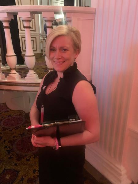 Volunteer Melissa Stevens of Needham