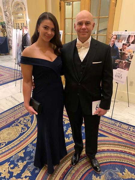 Hannah Pyenson of Millis and Sam Cohen of Newton