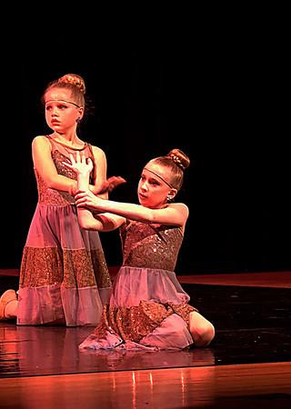 Ellie's Dance Program 2-10-17
