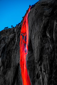THE RAGE OF ACHILLES: YOSEMITE HORSETAIL FALLS FIREFALL