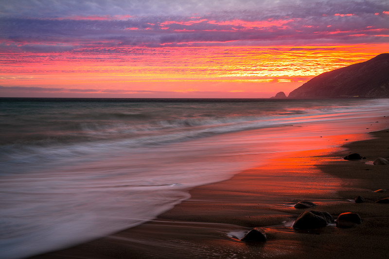 EPIC POINT MUGU MALIBU SUNSET