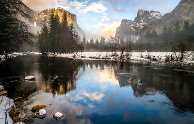 TRANQUILITY: YOSEMITE WINTER BREAKING STORM