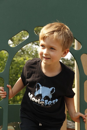 at the Preschool playground