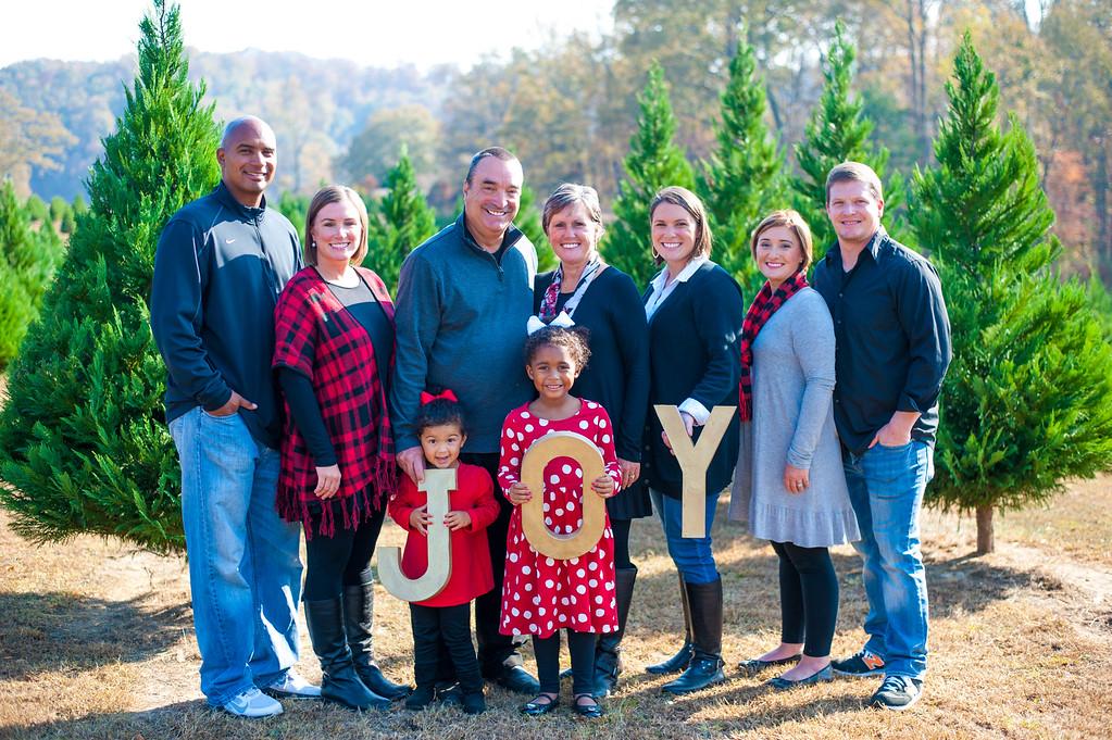 Ellis Family: Christmas Tree Farm 2016