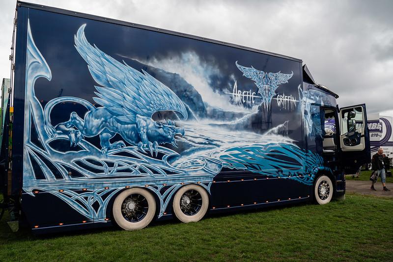 arctic griffin, elmia, lastbil, Nordic Trophy, truck