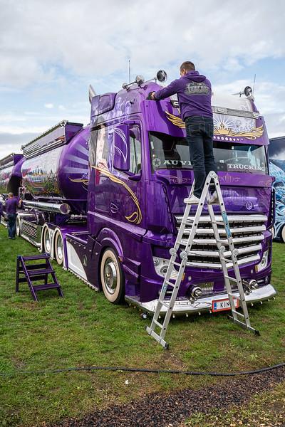 elmia, Kuljetus Auvinen, lastbil, Nordic Trophy, truck