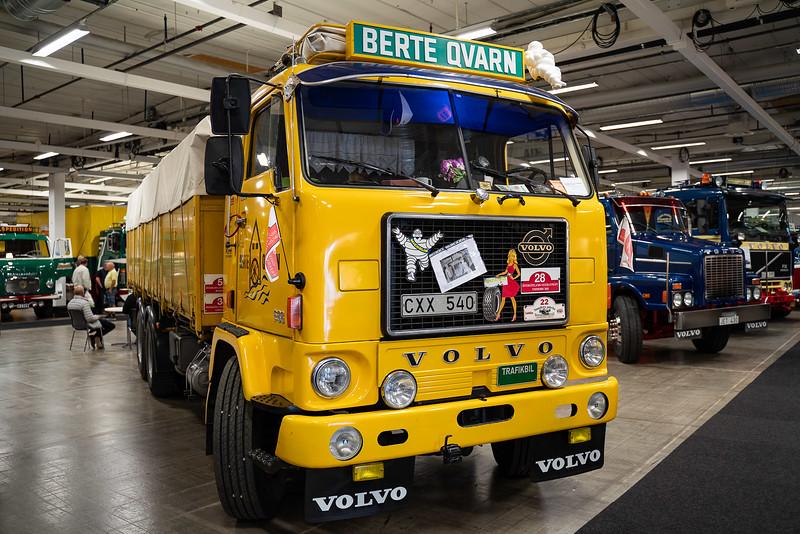 berte qvarn, elmia, lastbil, truck, veteran, Volvo
