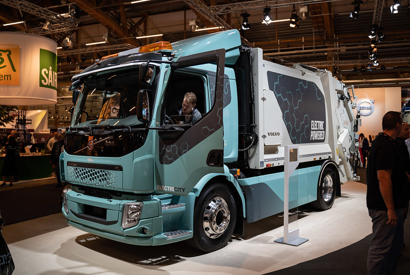 electric powered, elmia, lastbil, truck, Volvo