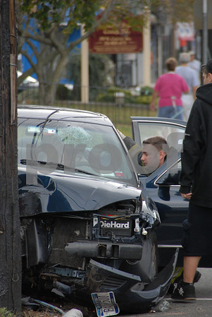 MVA on Central Ave, 10-11-07