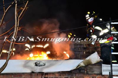 Elmont F.D. Building Fire 21 Village Ave 5-3-15