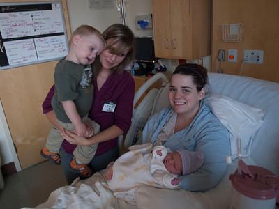 Ellie's birth