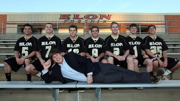 Elon Mens Lacrosse Team 2012