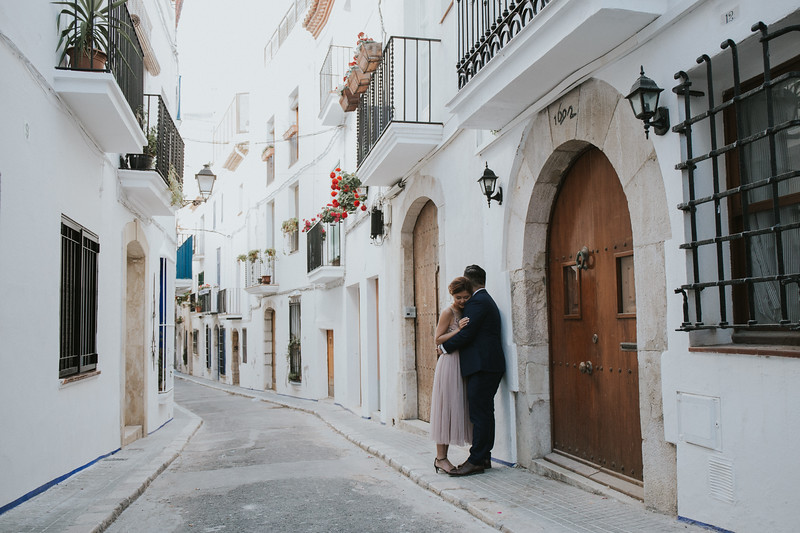 Elopement in Barcelona and Sitges Spain