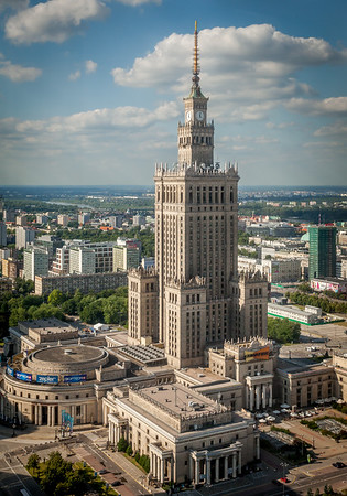Palace of Culture and Science - Warsaw, Poland