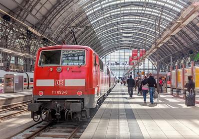 Frankfurt (Main) Hauptbahnhof - Train Station