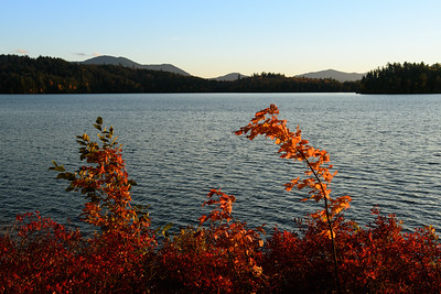 Lower Saranac Lake Sunset