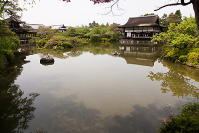 Pond at Heian Shrine.