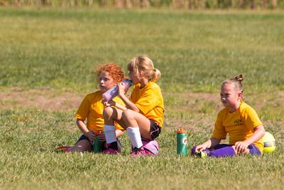 Elsie & Riley's Soccer Games 9-24