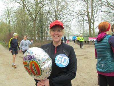 Elspeth's 50th Park Run