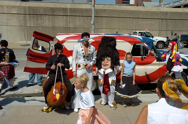 Elvis Parade KC, Mo. 8.11.2006.