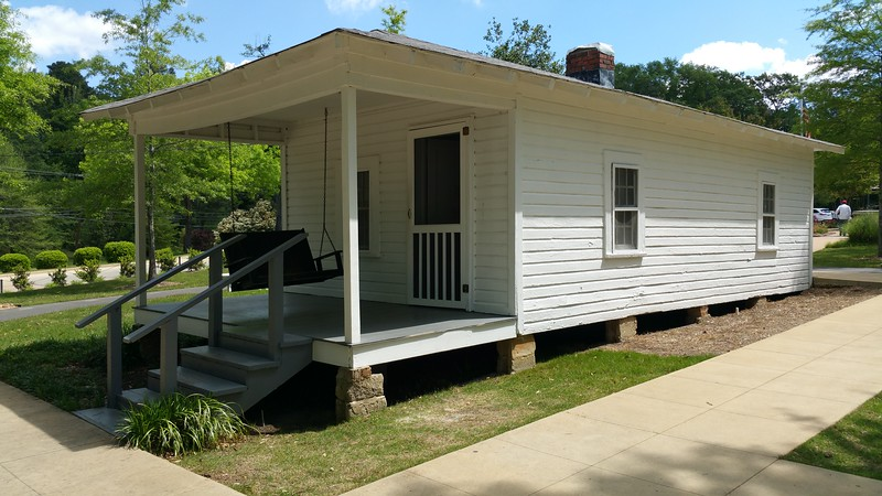 Vernons actually  built  this house with some help..similar  in size to a medium  size mobile home