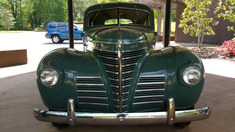 It is a 1939 Plymouth Sedan