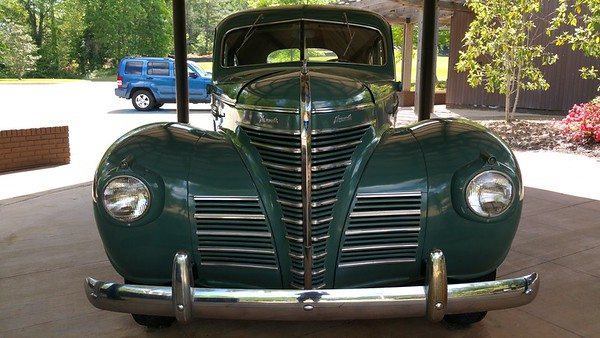 It is a 1939 Plymouth Sedan