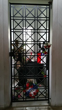 The  crypt Elvis was put in has remained empty until recently when it was put up for sale at $100,000