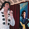 "Robert Black portraying Elvis entertained the crowd at the Fitchburg Senior Center on Wednesday, Jan 29, 2020 with an hour worth of Elvis songs. Black brought Senior Center volunteer Diane Walsh up on stage and sang ""Love Letters"" to her during his performance. SENTINEL & ENTERPRISE/JOHN LOVE"