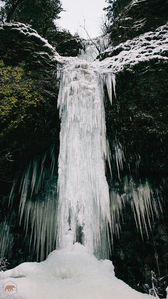 Frozen-Waterfall