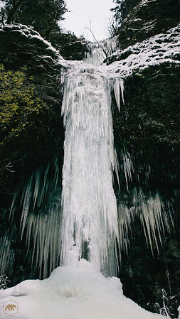 Frozen-Waterfall