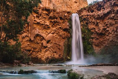 Mooney Falls, Havasupai Falls, Arizona