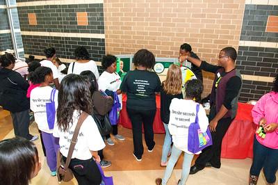 EmpowHERment 2015 Summit @ Phillip O Berry Academy 9-27-15