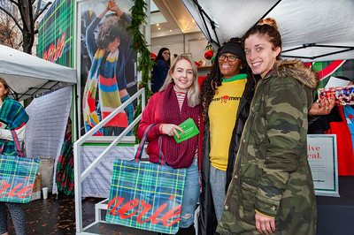 EmpowHERment & Aerie Pop-Up Tour @ Charlotte Christmas Village 12-15-18 by Jon Strayhorn