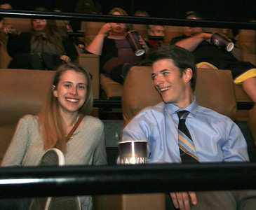 "Student finalists, family and supporters gathered at the Emagine Theater in Royal Oak on Thursday, May 10, 2017, to screen the top 20 short student films from Emagine Entertainment's ""Hush Reel"" Video Contest. The grand prize winner's film, which will be shown before each movie, alerts guests to silence their phones. Photo by Brandy Baker / For Digital First Media"