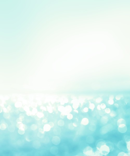 abstract blur light on the sea and ocean background for summer