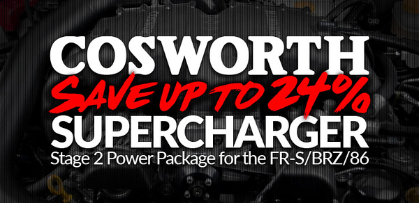 2018 May Cosworth Supercharger