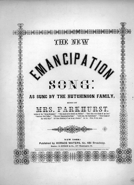 The New Emancipation Song