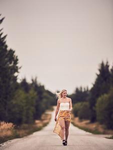 Portrait shoot for Michelle