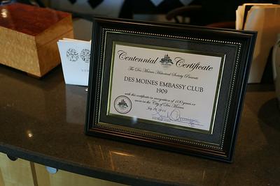 Embassy Club Board of Directors  7/29/2014