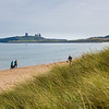 Embleton beach towards Dunstanburgh Castle